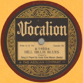 Hill Billie Blues