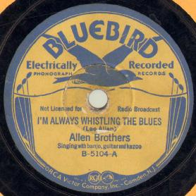 I'm Always Whistling The Blues