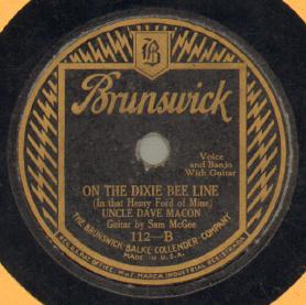 On The Dixie Bee Line (In That Henry Ford Of Mine)