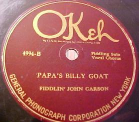 Papa's Billy Goat