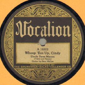 Whoop 'Em Up, Cindy